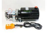 Centralita hidráulica simple efecto 1600w 12v depósito para remolque basculante
