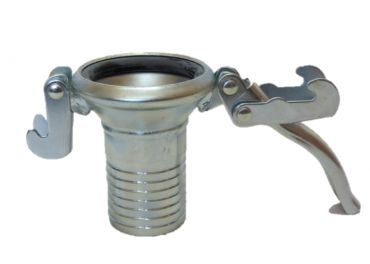 Enganche enlace para cuba hembra para tubo de 150mm
