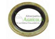"""Arandela metalgoma 1/4"""" (13mm) para hidráulica"""