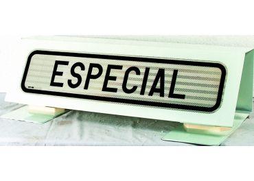 """Kit placa """"Transporte Vehiculo Especial"""""""