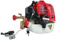 Motor 2 tiempos 25.4cc con bomba de fumigar de pistones