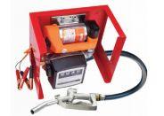 Equipo trasvase gasoil 12-24v con cuentalitros