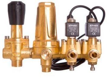 Grupo electroválvulas para atomizador