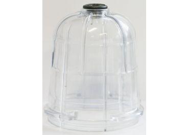 Vaso de policarbonato para sifón cuba riego o purín Ø123 interior