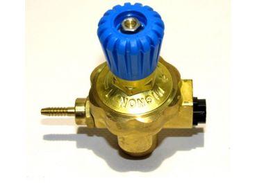 Regulador presión oxígeno rosca derechas