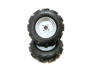 Juego ruedas neumáticas sin ejes 500x10