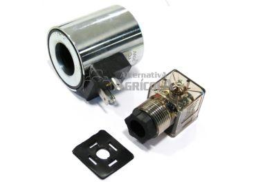 Bobina eléctrica 12v para selectora hidráulica