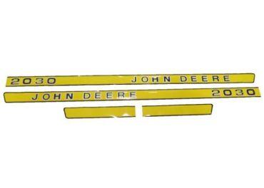 Juego de pegatinas John Deere 2030