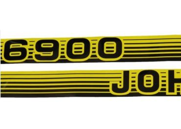 Juego de pegatinas John Deere 6200