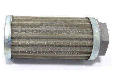 """Filtro hidráulico malla 90 litros/min con soporte rosca de 1"""" 1/2"""
