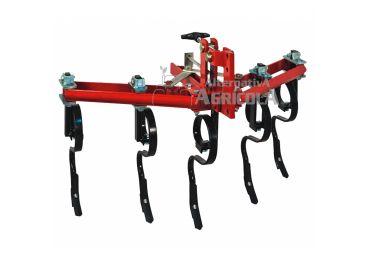 Cultivador extensible 5 brazos flexible