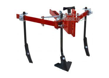 Cultivador extensible auto-regulable 35-100 cm 5 brazos rígidos