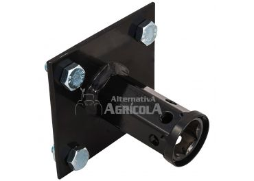 Adaptador rueda metálica Ø 25mm