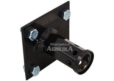 Juego Adaptador rueda metálica hexágono 26 mm