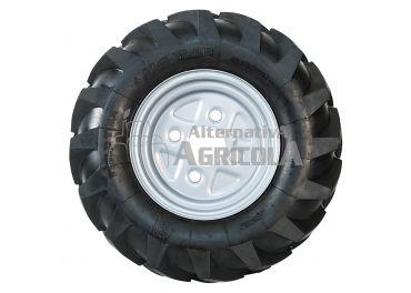Juego ruedas neumáticas sin ejes 500x12
