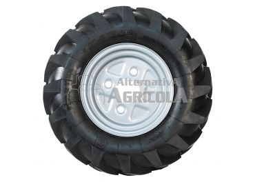 Juego 2 ruedas neumáticas sin ejes 6,50/80 x 12