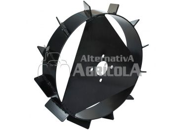Juego ruedas metálicas sin ejes Ø6.00x120