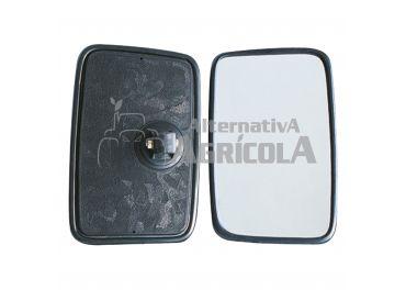 Espejo retrovisor plano 250x160 homologado varilla 16mm ( WP-S041106 )