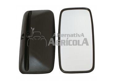 Espejo retrovisor curvo 420x200 mm homologado CL II y varilla 16/18 mm
