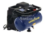 Compresor Eléctrico Portátil Goodyear GY166P 6L 1,5HP 180L/MIN