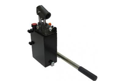Bomba Hidraulica manual 25cc simple efecto con depósito de 3 litros