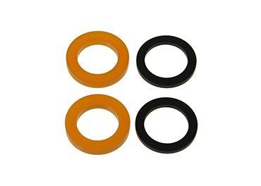 Juego gomas eje flexible barra 25mm