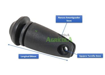 Amortiguador De Cabina International : Soporte amortiguador para cristales cabina tractor