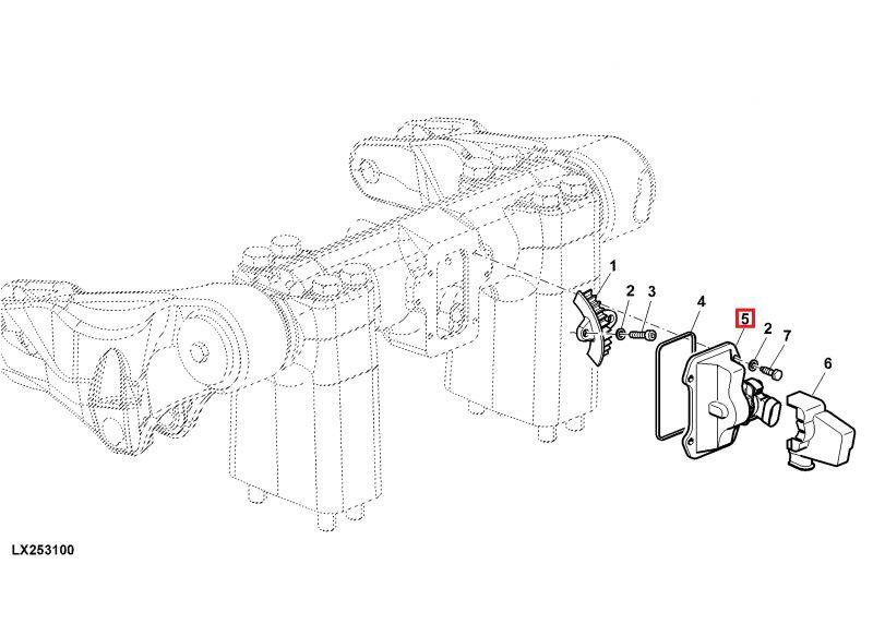 sensor de posici u00f3n del elevador original para tractores