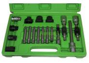 Kit Extractor de Poleas de Alternador 18 Piezas